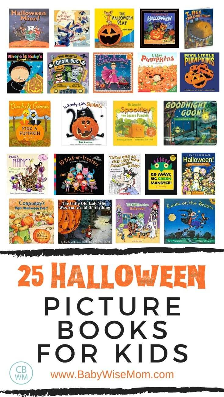 25 Halloween picture books for kids