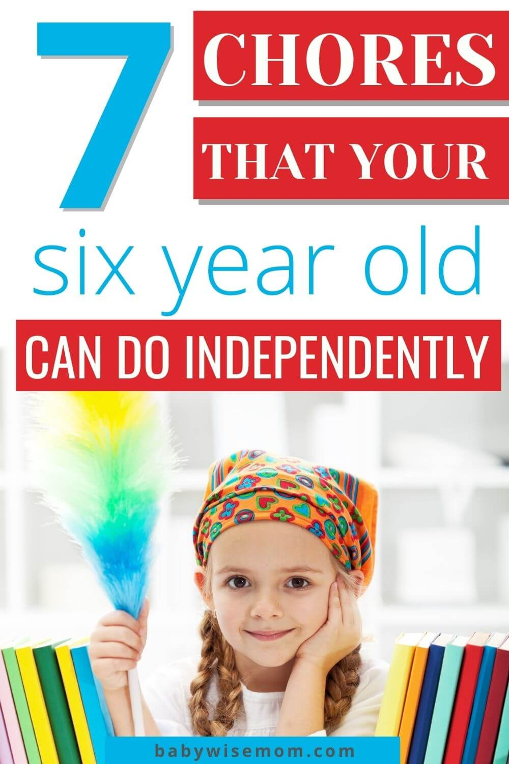 7 chores for your 6 year old
