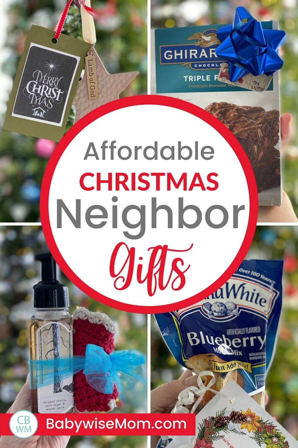 Affordable neighbor gift ideas
