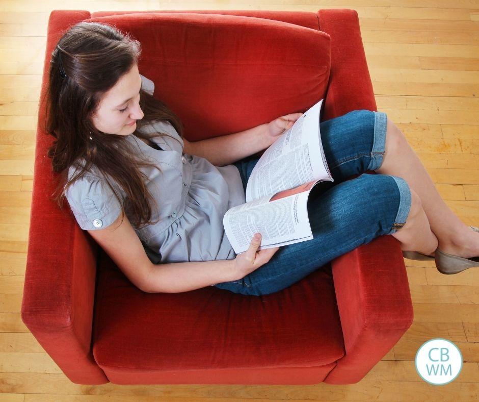 Tween and teen reading