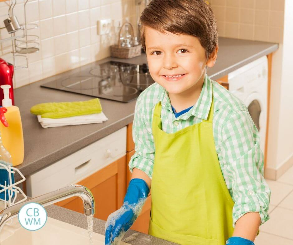 7 year old chores