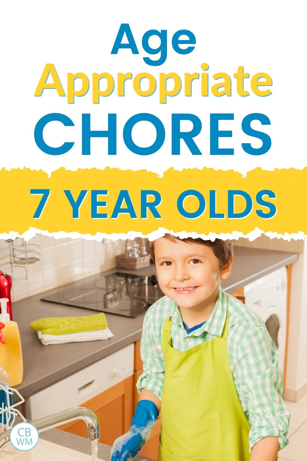 age appropriate chores for 7 year olds
