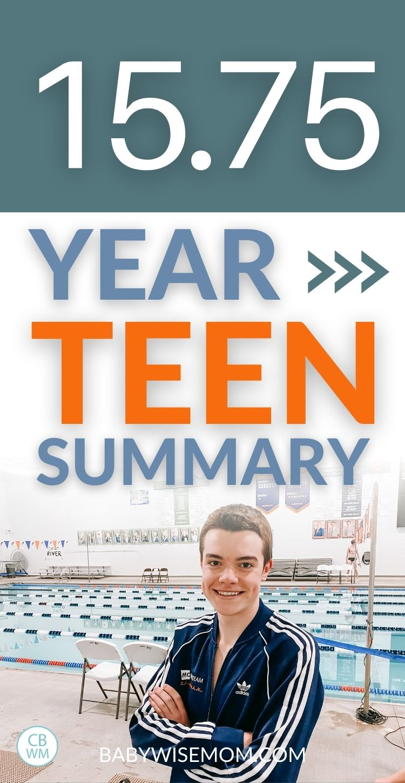 15.75 year teen summary pinnable image