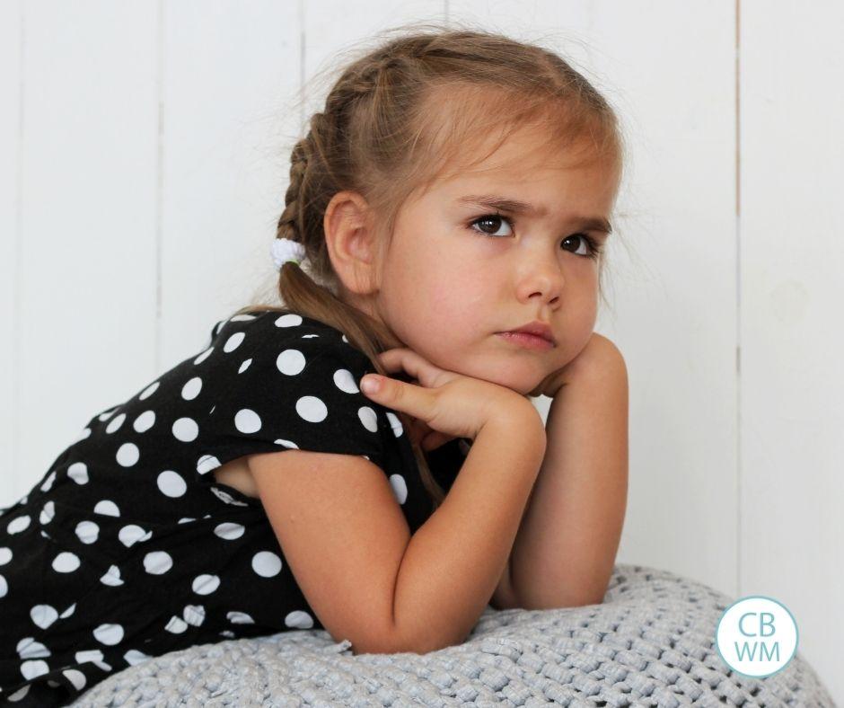 upset and emotional preschooler