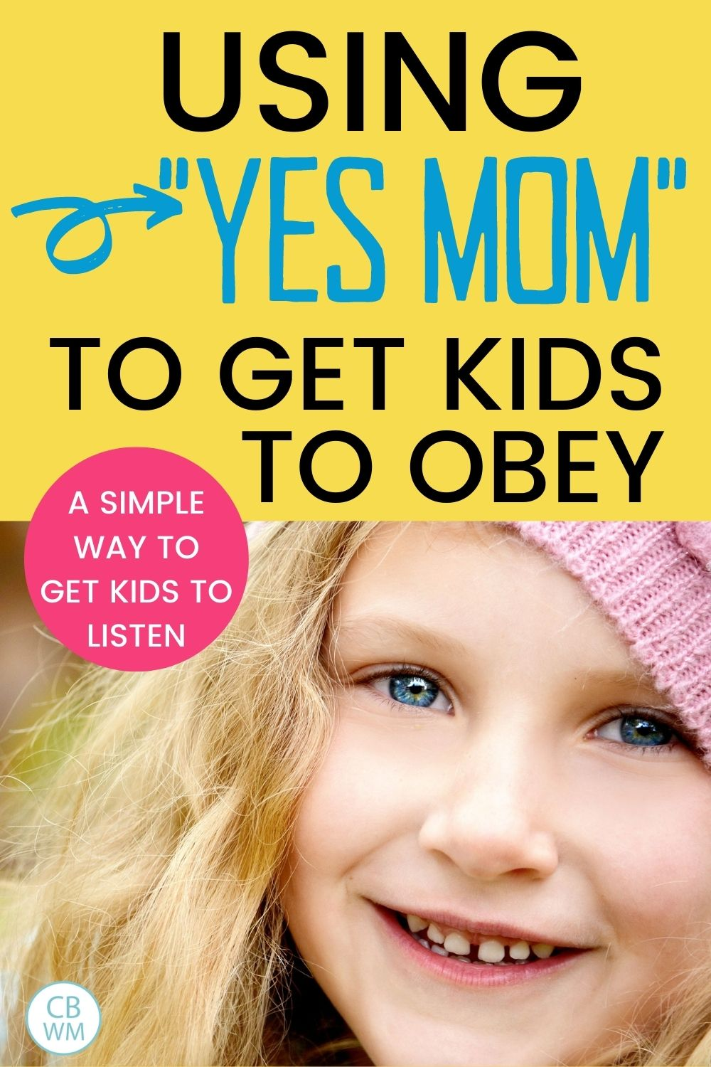 Yes mom to get kids to obey
