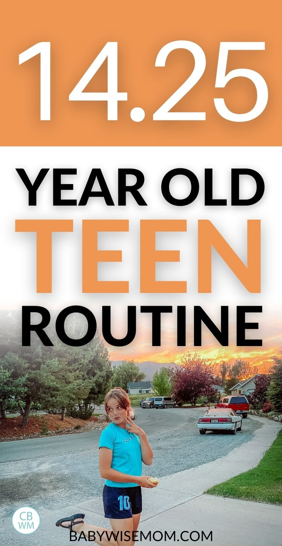 14 year old summary