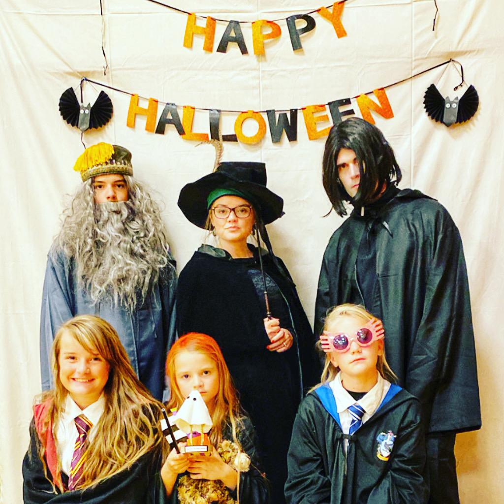 Harrry Potter Halloween Costume