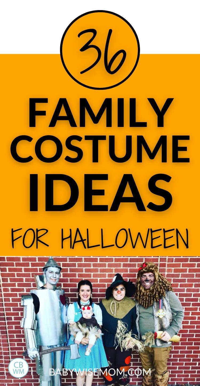 36 family costume ideas
