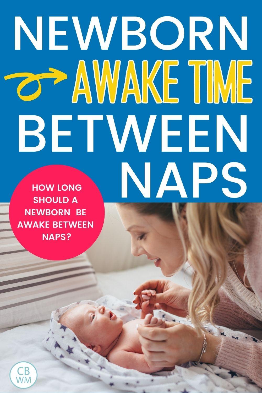 Newborn awake time between naps