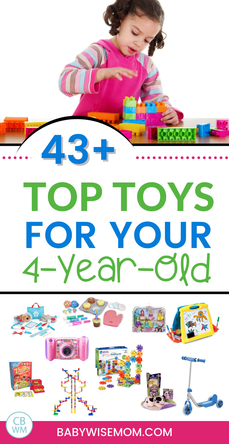 top toys for 4 year old